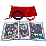 Deshaun Watson Football Cards (3) Assorted Bundle - Houston Texans Trading Card Gift Set