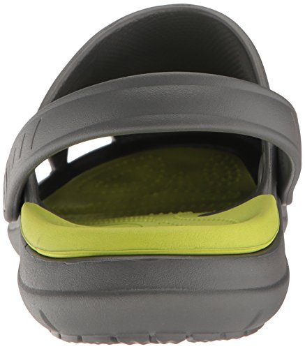Crocs Unisex Modi Sport Clogs Grey (Graphite-volt Green) 6k5nQ6