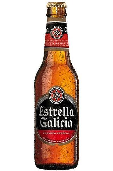 CERVEZA ESTRELLA DE GALICIA ESPECIAL LAGER PACK 24 BOTELLAS 33CL: Amazon.es: Alimentación y bebidas