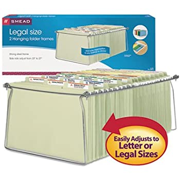 Amazon Com Smead Hanging File Folder Frame Legal Size