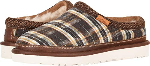UGG Men's Tasman Plaid Slipper Chestnut Size 12 D US