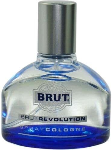 Brut Revolution Spray Cologne, 1.3 Ounce