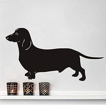 Dachshund vinilo pegatinas de pared perro divertido decoración del ...