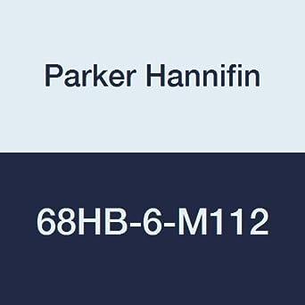 Parker Hannifin 68HB-6-M112 Brass Beaded Hose Barb Fitting 3//8 Beaded Hose Barb x M12 x 1.5 Metric Thread 3//8 Beaded Hose Barb x M12 x 1.5 Metric Thread Parker Hannifin Corporation