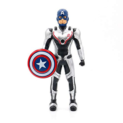 WEKIPP New 19Cm 4 Quantum Suit Team Projection Action Figure Tony K Man Toy Kid Gift -Multicolor Complete Series Merchandise
