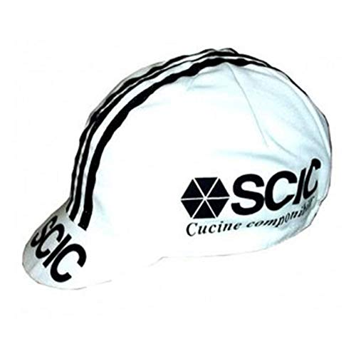 - APIS Scic Vintage Cotton Cycling Cap - Bicycle Cap Outdoors Anti Sweat White