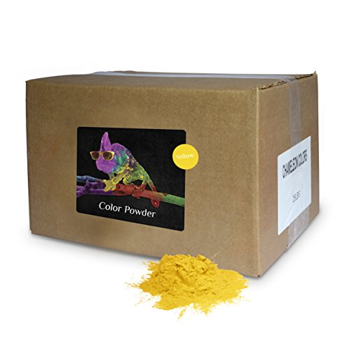Color Powder Yellow 25lb Box by Chameleon Colors