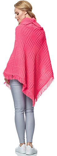 Femme Style MSSE0023 Amaranth pour Merry Poncho OCPxw0nqxf