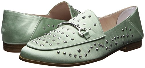 Green West Plano Nine Satén Mocasín Satin Mujer Light Westoy 04z6zq