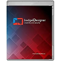 badgeDesigner ID Card Software Program for Mac & PC - Design & Print Photo ID Cards and Gift/Loyalty Cards - Gold Edition