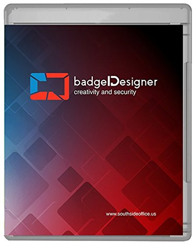 badgeDesigner ID Card Software Program for Mac & PC - Design & Print Photo ID Cards and Gift/Loyalty Cards - Silver Edition by BadgeDesigner