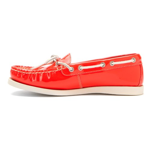 Eastland Mujeres Yarmouth Camp Moc Slip-on Orange