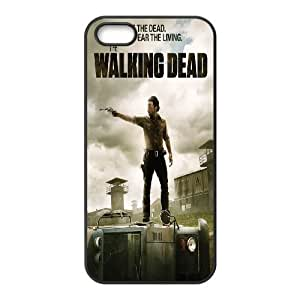 JamesBagg Phone case The Walking Dead series pattern case cover For Apple Iphone 5 5S Cases TWD-WALKING1951