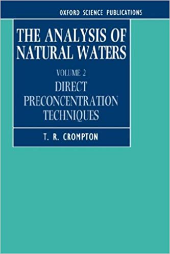 Pdf lærebøger download gratis The Analysis of Natural Waters: Volume 2: Direct Preconcentration Techniques (Oxford Science Publications) 0198553943 in Danish PDF RTF DJVU