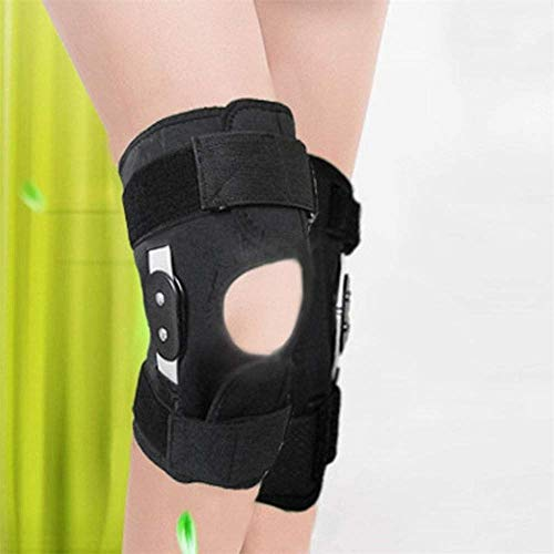 Yaning Adjustable Hinge Knee Joint Support Knee Protection Sports Injury Knee pad
