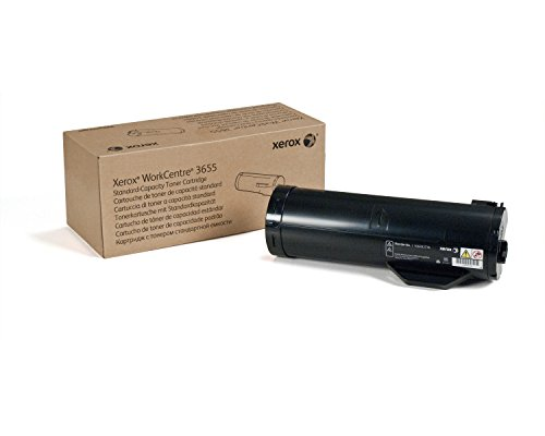 Genuine Xerox Black Toner Cartridge for the WorkCentre 3655, 106R02736 ()