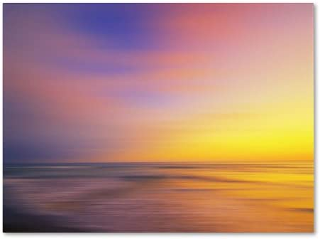 Metallic Sunset by Philippe Sainte-Laudy, 16 by 24-Inch Canvas Wall Art