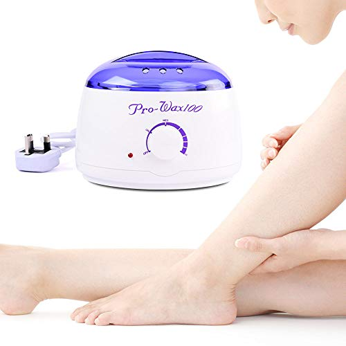 Price comparison product image Apelila Hair Removal Kit Hot Wax Warmer Waxing Kit Wax Melts of Legs,  Face,  Body