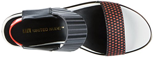 corallo Mix Donne Toe Rico Sandali United Open Delle Nude Multicolore 46wR4qCp