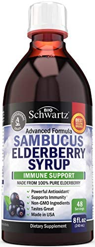 Sambucus Black Elderberry Syrup