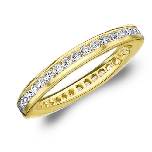 18 Ct Gold Eternity Rings - 4