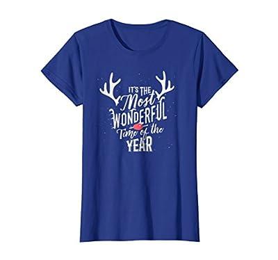 Womens Merry Christmas Shirt Holiday Gift Tshirt for Xmas Tee Cute