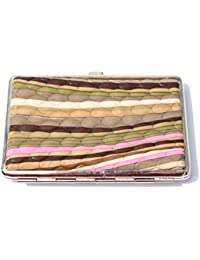 Mini-Hard Frame Wallet sturdy Metal Case with inner bands