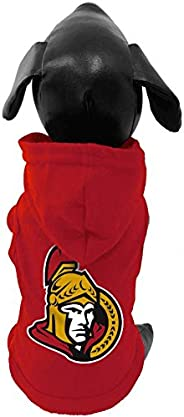 NHL Unisex NHL Ottawa Senators Cotton Hooded Dog Shirt