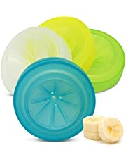 Masontops Trap Caps - Reusable Indoor/Outdoor Fruit Fly Trap Catching Lids - Fits Any Regular Mouth Mason Jar - 4 Pack