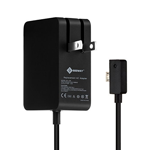 Egoway 13W 5.2V 2.5A AC Power Adapter Charger for Microsoft Surface 3 Tablet