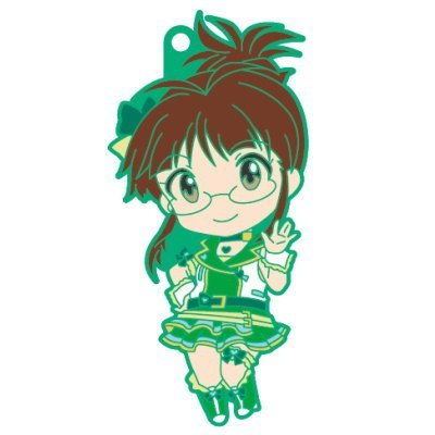 Nendoroid Plus rubber strap The Idolmaster One For All 765PRO ALLSTARS stage A [5. Ritsuko Akizuki] (single)