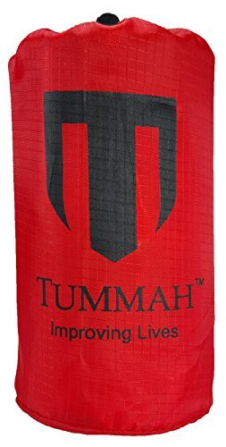 Tummah Emergency Survival Mylar Thermal Sleeping Bag / Blanket - BONUS - Receive A 'Must Read' THE BASIC SURVIVAL GUIDE eBook with Your Order! A $14 Value Absolutely FREE