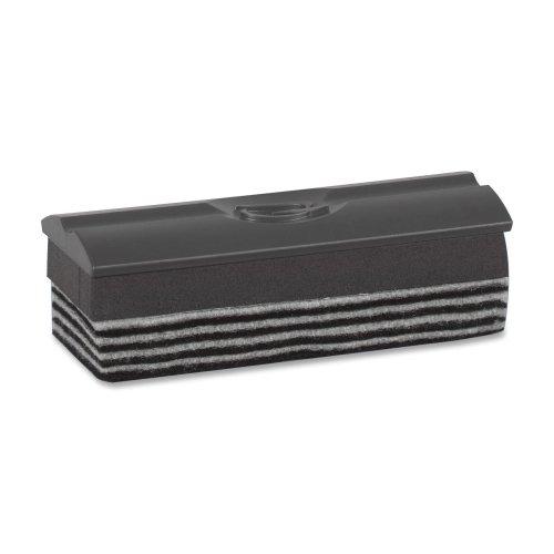 Quartet Prestige Marker Board Felt Eraser - Refillable - Gray - (Prestige Markerboard)