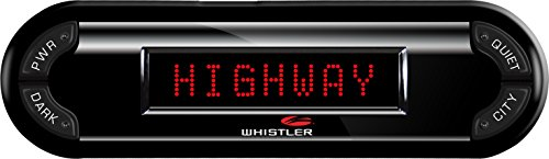 Whistler PRO-3700 High Performance Laser Radar Detector: 360 Degree Protection and Voice Alerts ()
