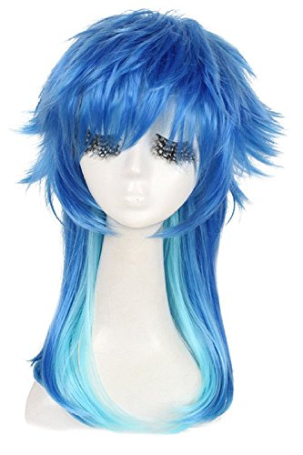 [Cosplay Wig Japanese Cartoon Hair] (Labor Day Parade Costumes For Sale)