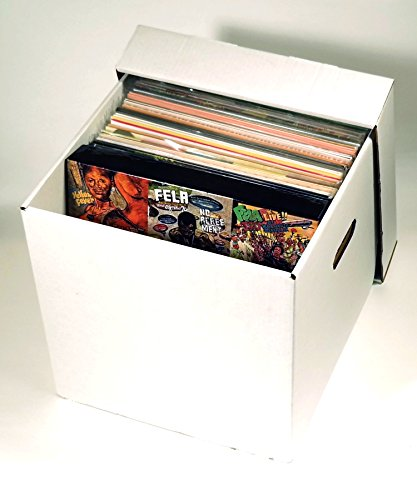 Dance 45 Rpm Records - Diskeeper Ultimate LP Record Storage Box