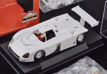 Amazon com: 1/32 Slot It Slot Car KITS - Plain White