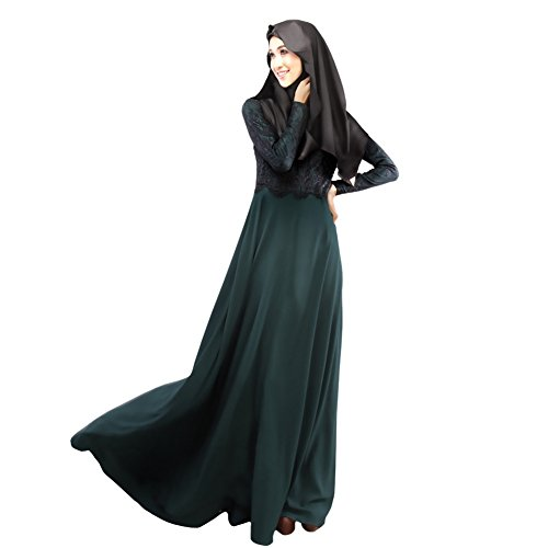 aa9f816244 Weixinbuy Autumn Kaftan Abaya Islamic Muslim Women Long Dress XL - Buy  Online in Oman. | Apparel Products in Oman - See Prices, Reviews and Free  Delivery in ...