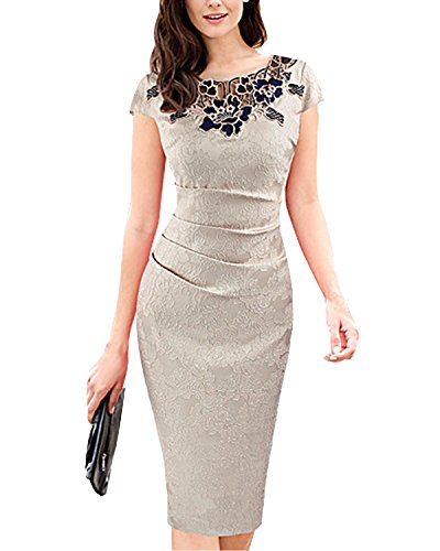 Tempt Me Vintage Jacquard Bodycon