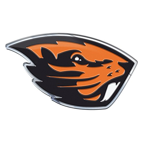 NCAA Oregon State Beavers Die Cut Color Auto Emblem Oregon State Beavers Car