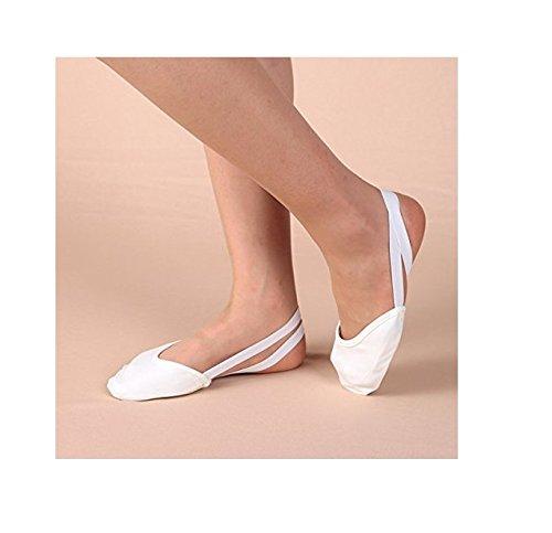 philna12Ballett oder Bauch Tanz Dancing Shoes–M Weiß