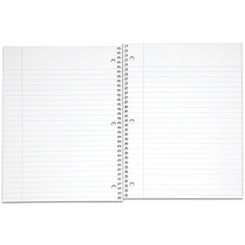 Mead Spiral Notebook, Wide Ruled, 1 Subject, 70 Sheets, 8 x 10.5 Inches, Assorted Colors (05510) Pack of 24 by Mead (Image #3)