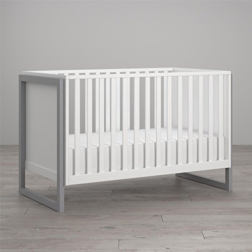 (Little Seeds Maple Lane Dove Crib, White)