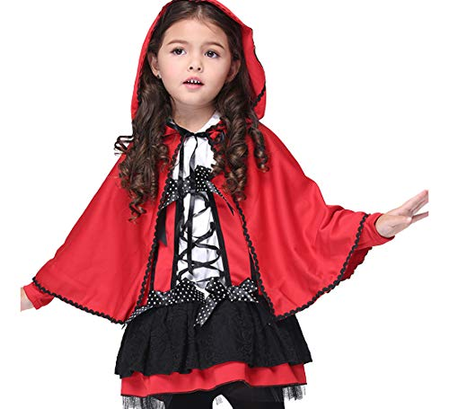 Children Jumpsuit Bat Vampire Sleeves Kids Party Fancy Halloween Cosplay Cozy Bat Costume for Boys Girls with Gloves ()