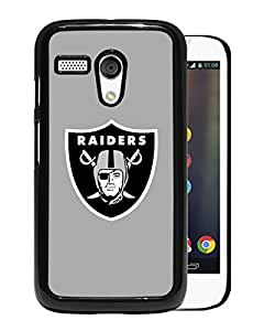 Oakland Raiders For Moto G Case Black Case Cover