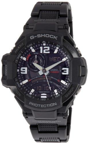 (Casio G-SHOCK Aviation Twin Sensor Digital Compass 200m Men's Watch GA1000FC-1A)