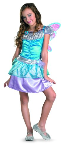 Winx Club Bloom Classic Costume, Purple/Blue, Medium -