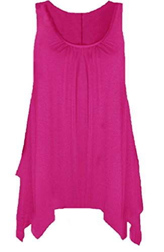 Femme empire Taille Fuchsia Chemisier Boutique Rose qEPwt5n5