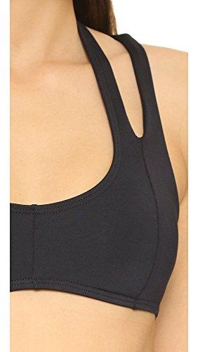 LSpace Women's Stacy Bikini Top, Black, Large
