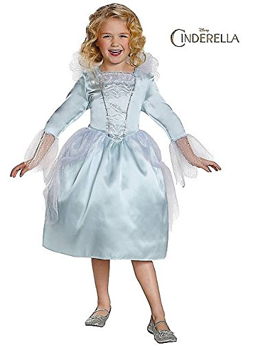 Disguise Fairy Godmother Movie Classic Costume, Medium (7-8) (Disney Princess Girls Cinderella Classic Costume)